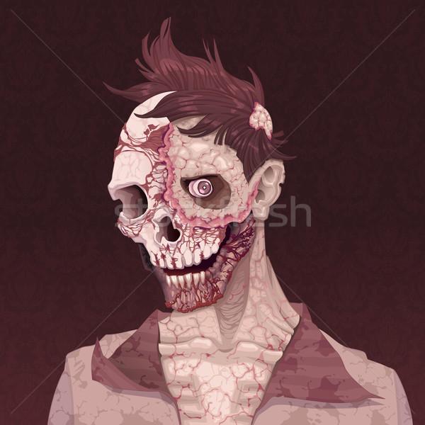Zombie portrait. Stock photo © ddraw