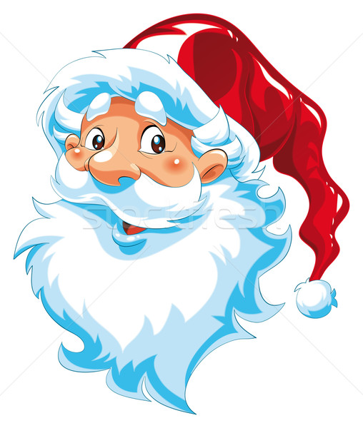 Santa Claus portrait. Stock photo © ddraw
