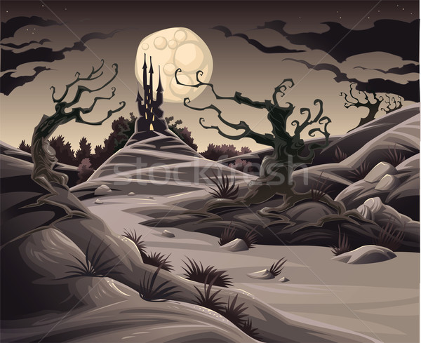 Horror landscape. Stock photo © ddraw