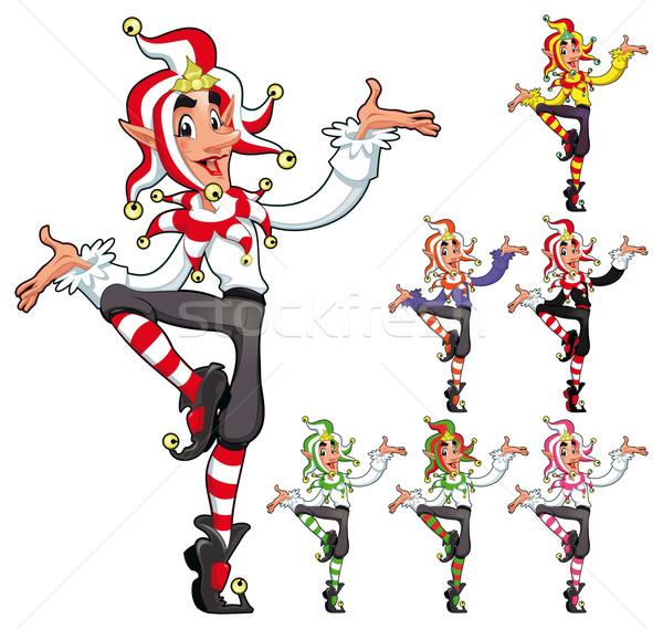 Funny Joker. Stock photo © ddraw