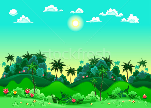 Green forest. Stock photo © ddraw