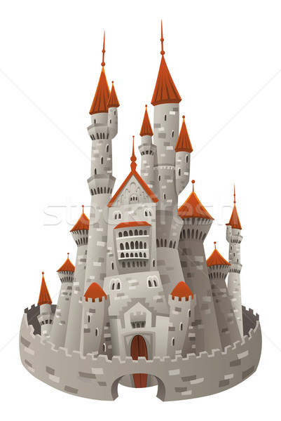 Medieval castle. Stock photo © ddraw