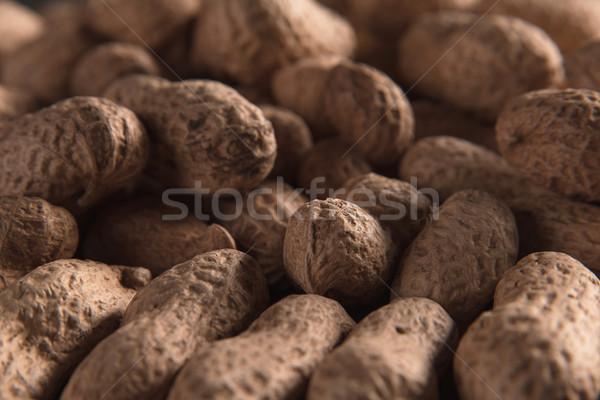 Secas amendoins foto amendoim saúde Foto stock © deandrobot