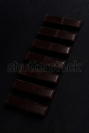 Chocolate escuro bar azulejos Foto stock © deandrobot