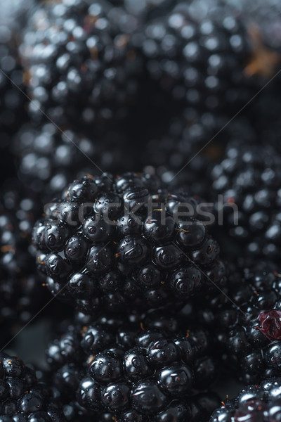 Mulberry. Focus selected. Macro. Stock photo © deandrobot