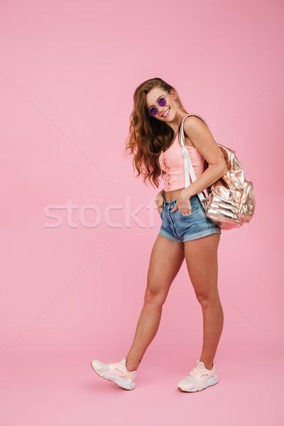 Ritratto donna estate indossare Foto d'archivio © deandrobot