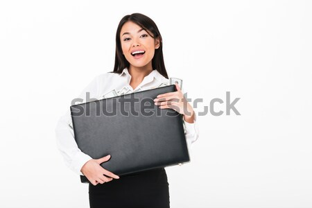 Сток-фото: портрет · азиатских · деловая · женщина
