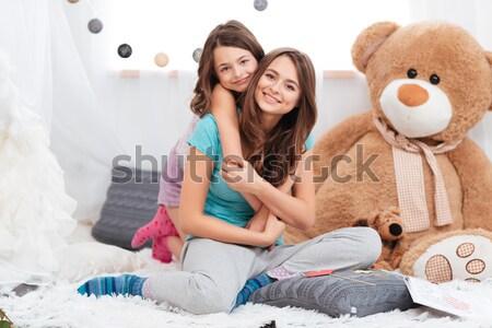 два забавный вместе Сток-фото © deandrobot