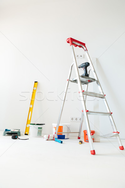 Picture of new flat Stock photo © deandrobot