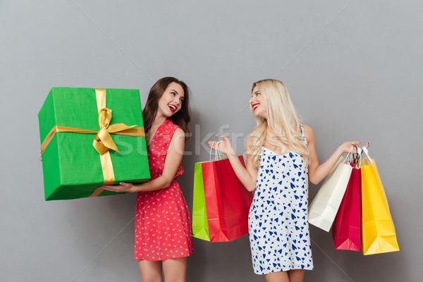 Surpreendente jovem senhoras amigos dom Foto stock © deandrobot