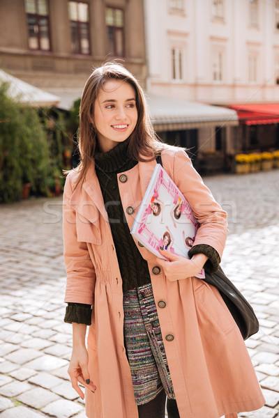 Beautiful fashion model Stock photo © deandrobot