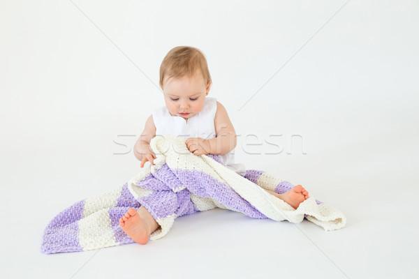 Stockfoto: Mooie · weinig · vergadering · vloer