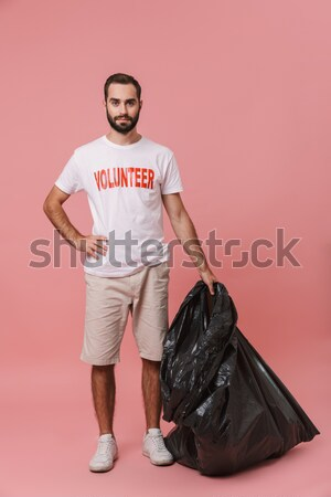 Portrait of an injured sportsman suffering f Stock photo © deandrobot