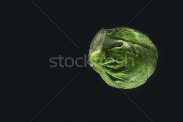 Fresh green brussels sprouts Stock photo © deandrobot