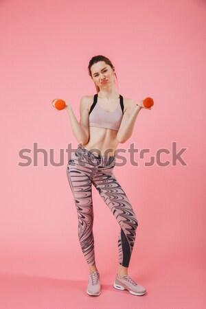 Stock fotó: Derűs · nő · nyár · ruházat · szórakozás · víz