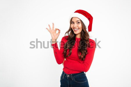 Stock photo: Portrait of a smiling pretty asian woman