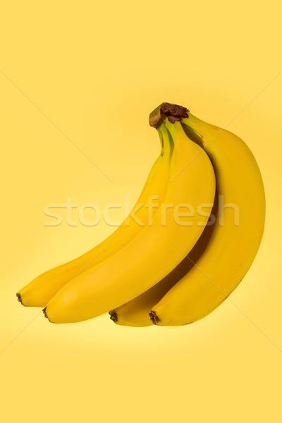 Maturo banane isolato giallo salute Foto d'archivio © deandrobot
