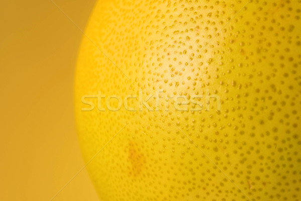 Close up view of a pomelo fruit Stock photo © deandrobot