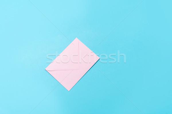 Light blank white envelope isolated Stock photo © deandrobot