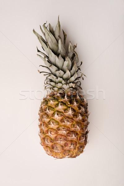 Maduro ananás isolado branco fruto Foto stock © deandrobot