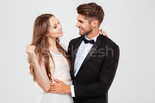 Married couple Stock photo © deandrobot