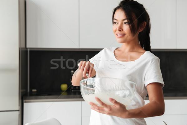 красивой Постоянный кухне фото Домашняя кухня Сток-фото © deandrobot