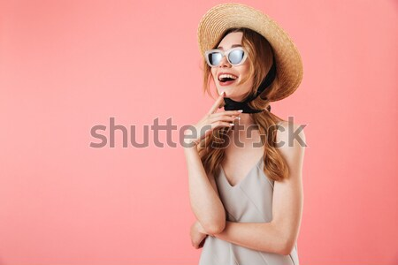 Portrait of a seductive young woman Stock photo © deandrobot