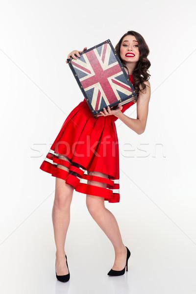 épuisé joli jeunes femme Photo stock © deandrobot