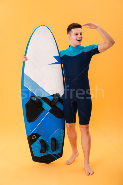 Photo jeunes bel homme maillot de bain Photo stock © deandrobot