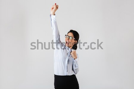 Man strangling herself Stock photo © deandrobot