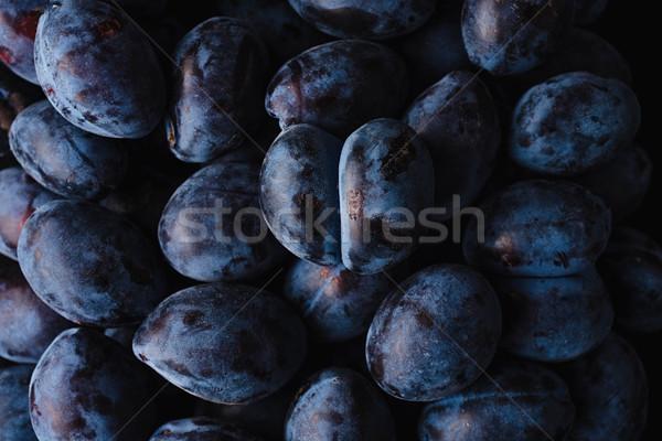 Fresco suculento comida fruto Foto stock © deandrobot