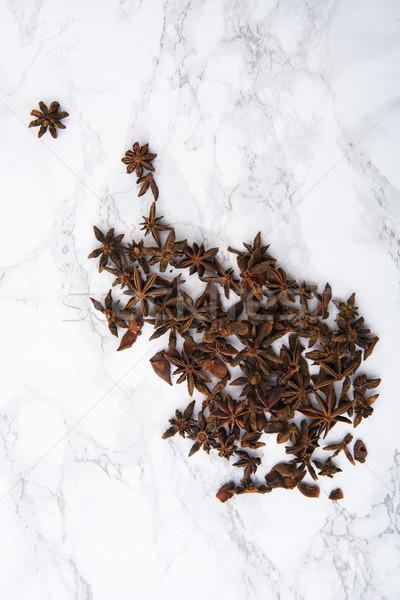 Top мнение звездой анис Spice древесины Сток-фото © deandrobot