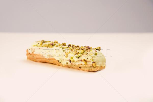 Witte noten room geïsoleerd ontwerp Stockfoto © deandrobot