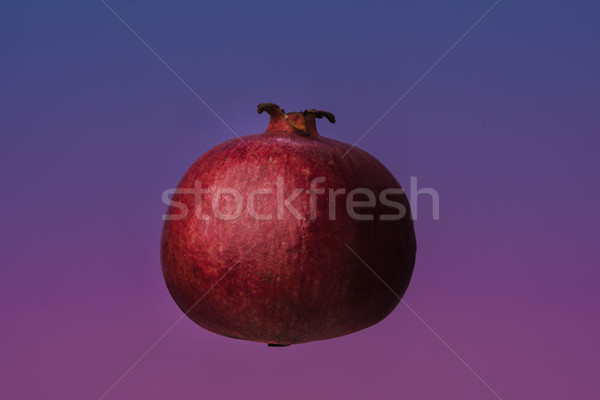 Ripe pomegranate fruit isolated Stock photo © deandrobot