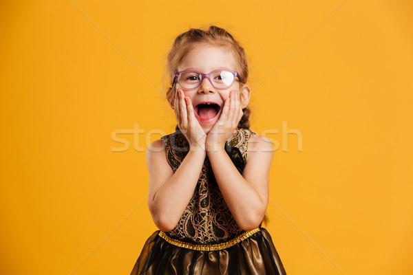 Сток-фото: девочку · ребенка · фото · Постоянный · изолированный