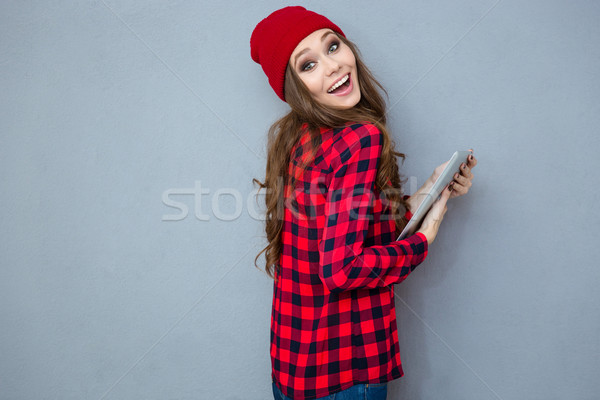 Сток-фото: смеясь · женщину · портрет