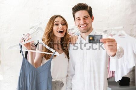Twee aantrekkelijk vrouwen vieren bruiloft champagne Stockfoto © deandrobot