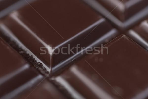 Süt çikolata fayans doku çikolata Stok fotoğraf © deandrobot