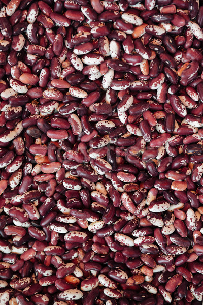 Pile of red beans Stock photo © deandrobot