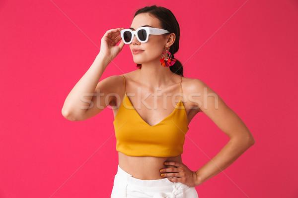 Fotografia glamour kobieta 20s Zdjęcia stock © deandrobot