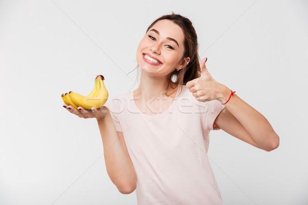 портрет улыбаясь бананы Сток-фото © deandrobot