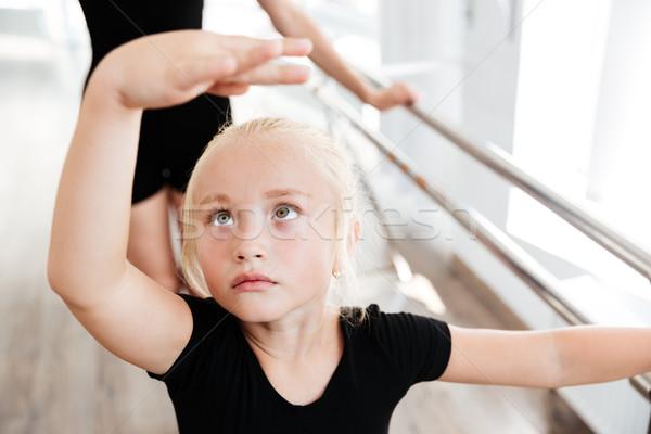 美しい バレリーナ バレエ 学校 クローズアップ ストックフォト © deandrobot