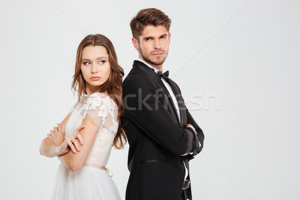 Conflict of couple Stock photo © deandrobot