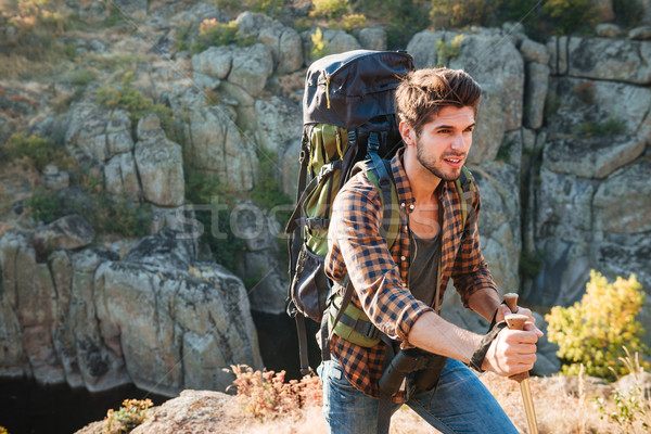 Traveler Stock photo © deandrobot