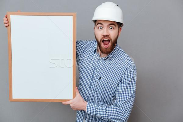 строителя копия пространства совета фото Сток-фото © deandrobot