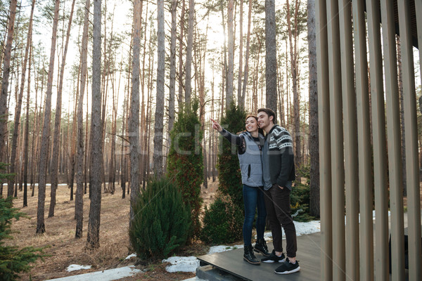 Full-length shot of couple Stock photo © deandrobot