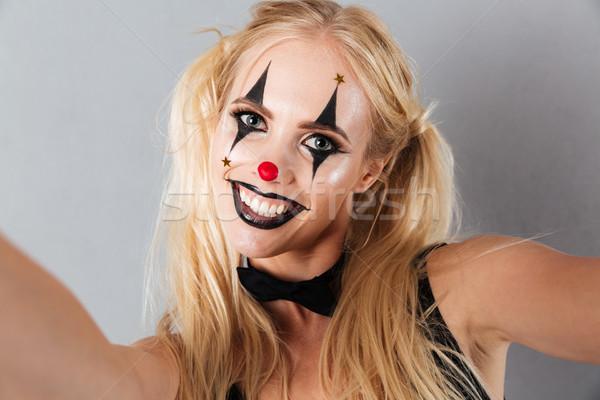 ストックフォト: 肖像 · 笑みを浮かべて · 明るい · ハロウィン