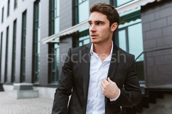 Stock photo: Business man outdoors