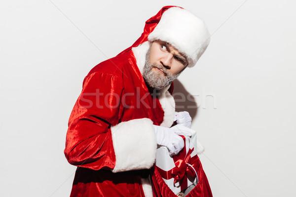 Suspectes homme coffret cadeau présents sac Photo stock © deandrobot