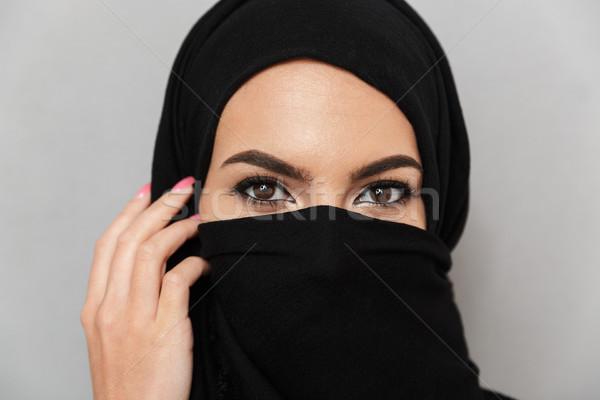 Portret dość arabski kobieta Zdjęcia stock © deandrobot